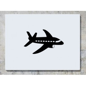 Aeroplane Aircraft Plane Wall Art Decal Sticker Picture