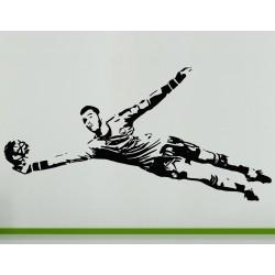 David De Gea Spanish Football Soccer Player Wall Art Decal Sticker Picture