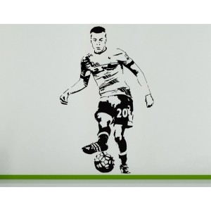 Dele Alli English Football Soccer Player Wall Art Decal Sticker Picture