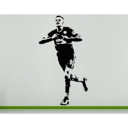 James Vardy English Football Soccer Player Wall Art Decal Sticker Picture