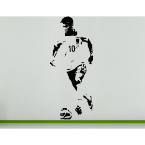 Neymar Da Silva Brazilian Wall Art Decal Sticker Picture