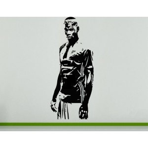 Paul Pogba French Wall Art Decal Sticker Picture