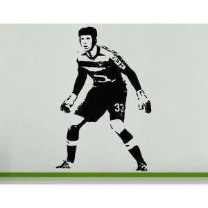 Petr Cech Goalkeeper Football Soccer Player  Wall Art Decal Sticker Picture