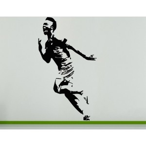 Raheem Sterling English Football Soccer Player  Wall Art Decal Sticker Picture