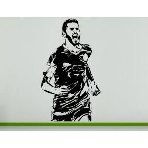 Riyad Mahrez Algerian Football Soccer Player  Wall Art Decal Sticker Picture
