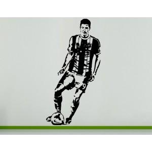 Robert Lewandowski Polish Football Soccer Player  Wall Art Decal Sticker Picture